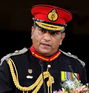 Army Commander Jagath Jayasuriya promoted as General