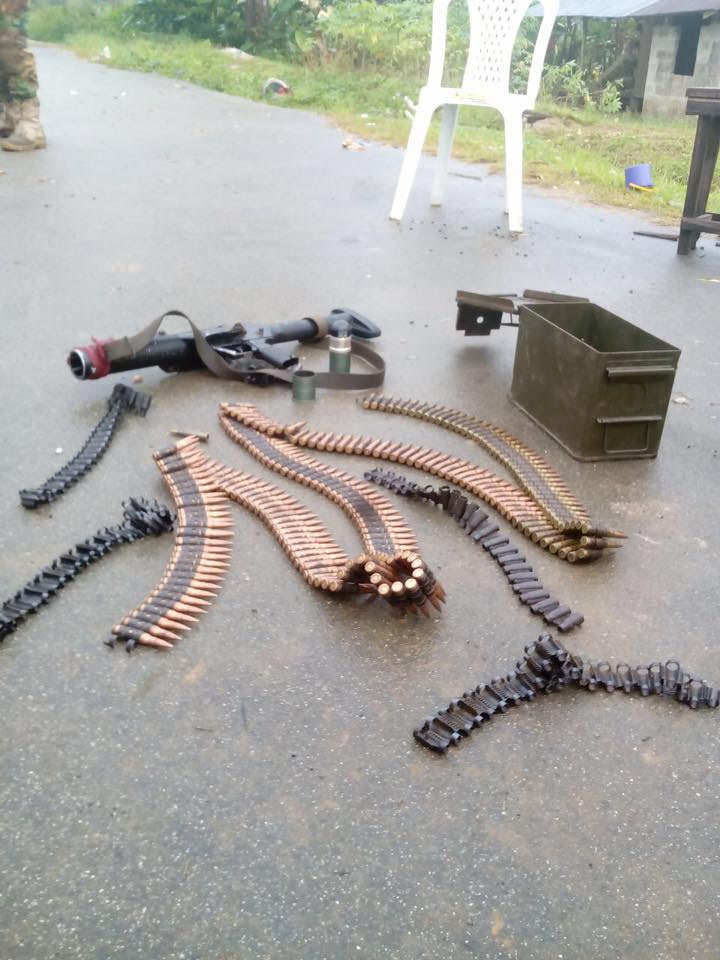 Graphic: Bakassi Strike Force meets waterloo as militants attack soldiers