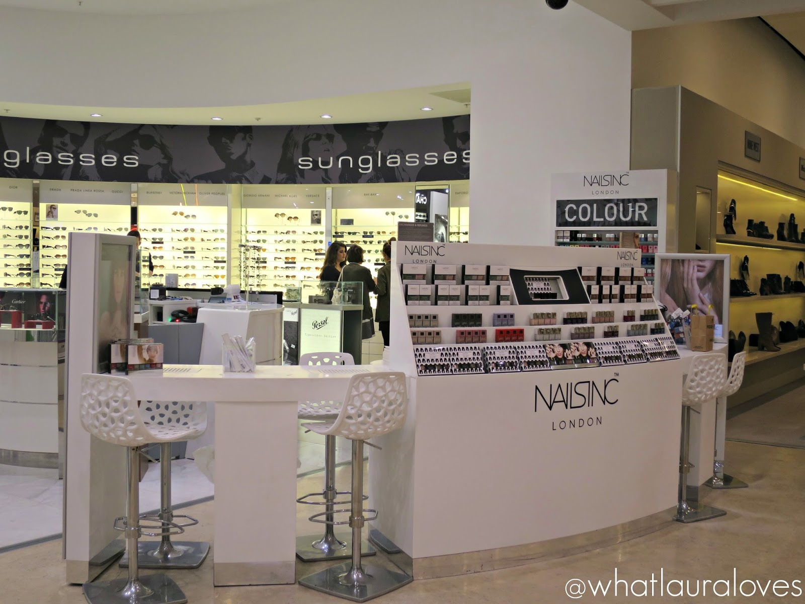 efb224d8c2b74 Nails Inc Express Manicure at Selfridges Trafford Centre - What ...