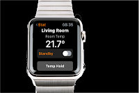 Thermostat internet Apple watch