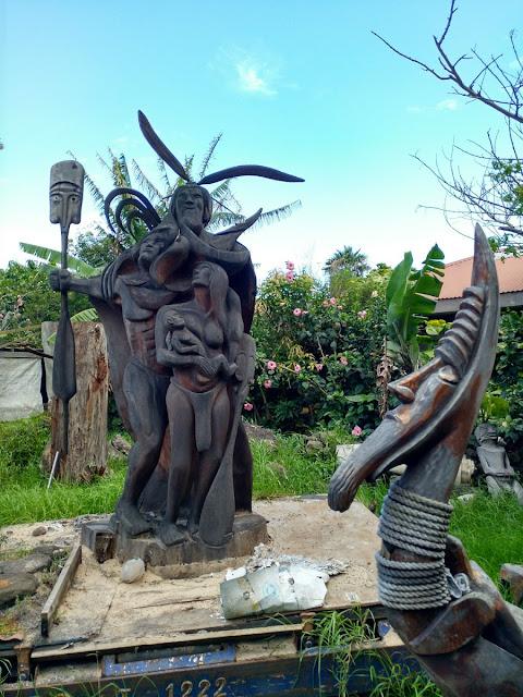 Tallas en madera, Isla de Pascua