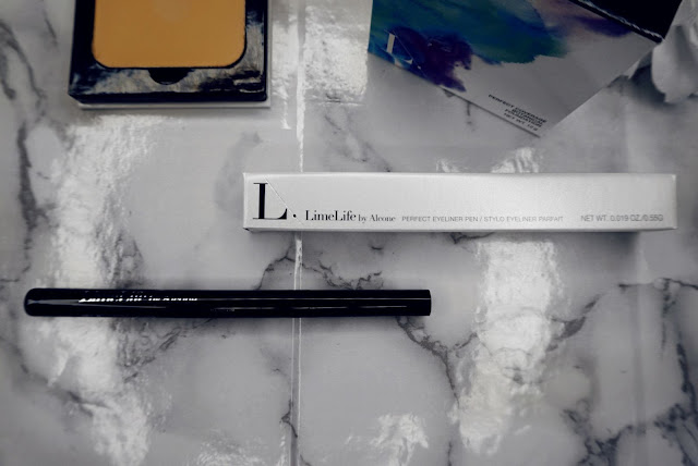 lime life by alcone botanical foundation and perfect eyeliner pen