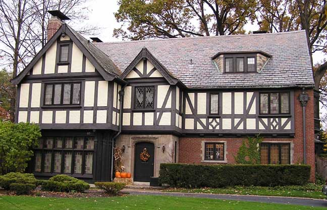 Im all about tudor style houses im sure you know what it is even if you didnt know its name youve seen them before they are far more popular in the