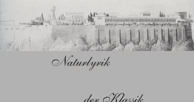 Gedichte Und Zitate Fur Alle Klassik Naturlyrik F Schiller Die