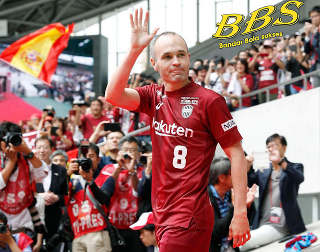 Iniesta Vissel Kobe