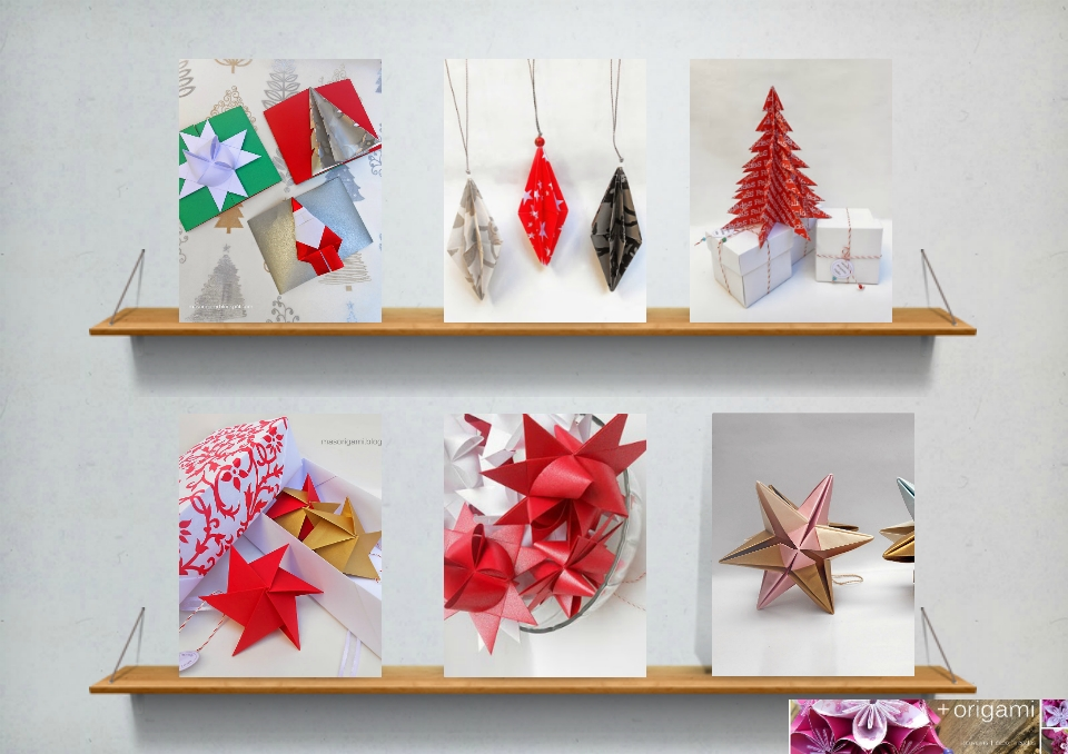 Qué interesante!:el origami en navidad - la cocina facil de lara ...