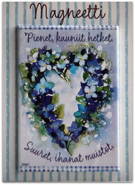 Minna Immonen fridge magnet