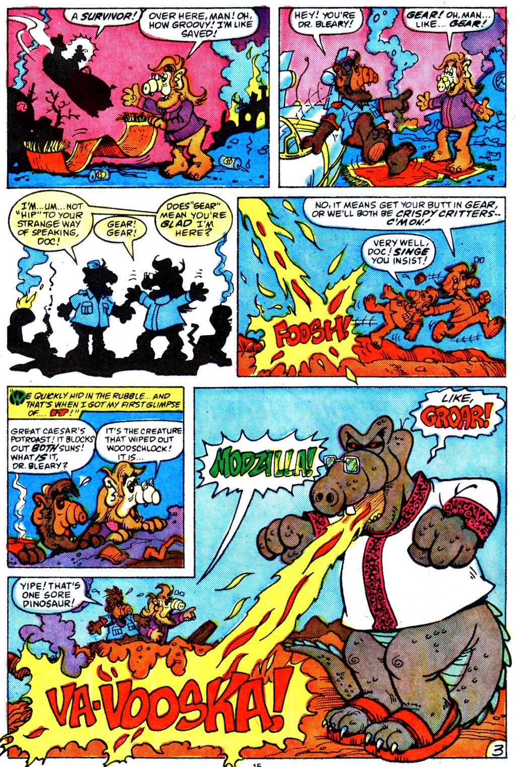 Read online ALF comic -  Issue #4 - 13
