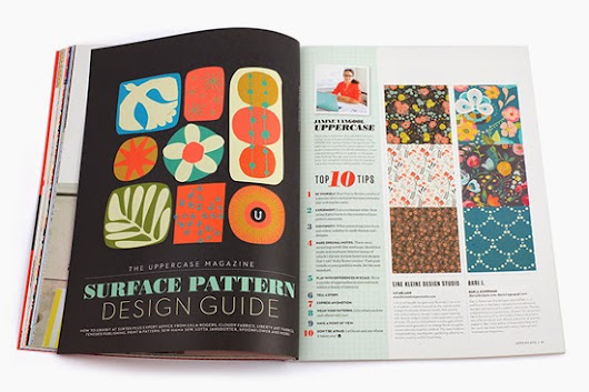 UPPERCASE Surface Pattern Design Guide Download
