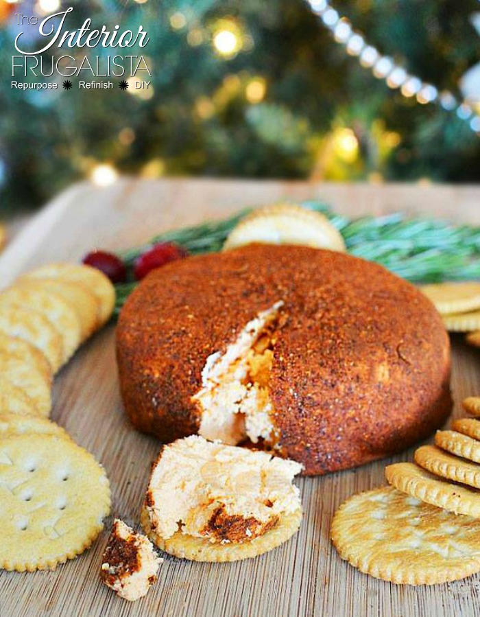 Family Favorite Spicy Christmas Ornament Cheese Ball