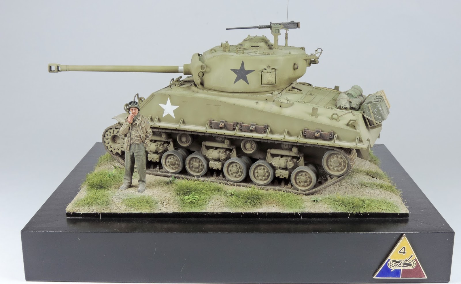 Pete's Model World : Tamiya Sherman M4A3E8 Complete