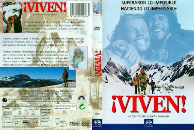 ¡Viven! (1993) Alive! - Carátula dvd