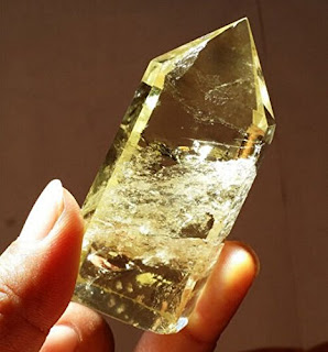 Natural Citrine quartz crystal