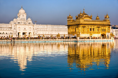 BEAUTIFUL VIEW OF GOLDEN TEMPLE, AMRITSAR