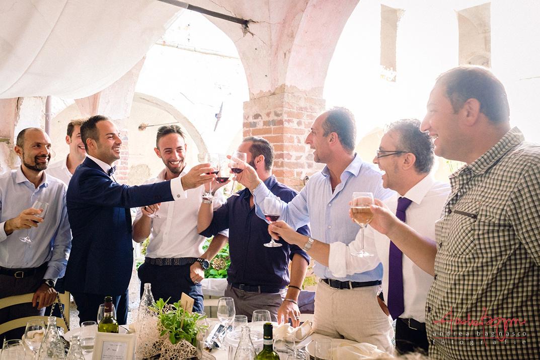 brindisi sposo invitati matrimonio reportage foto