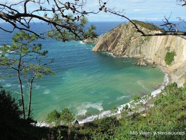 Playa del Silencio, Castañeras, Asturias