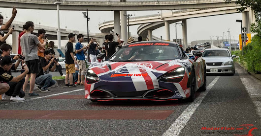 Chasing Gumball 3000 in Japan