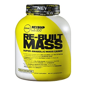 gnc rebuilt mass supplement reviews