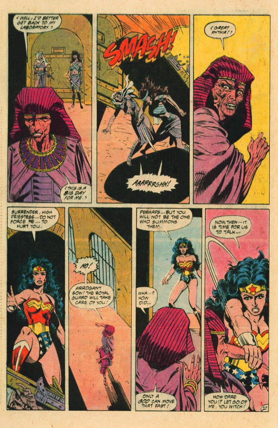 Read online Wonder Woman (1987) comic -  Issue #30 - 22