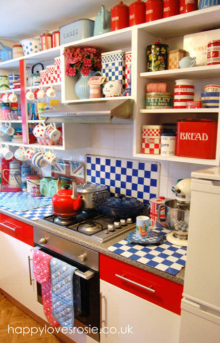 New Look Vintage Kitchen … Done!