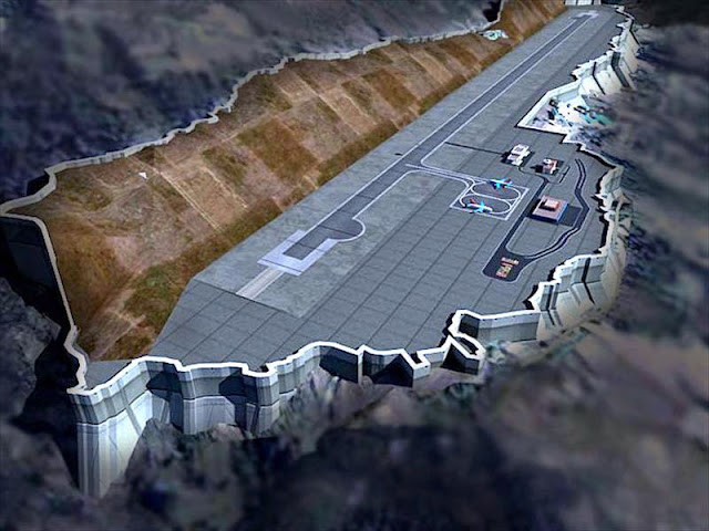 Image Attribute: The 3-D imaging of Pakyong Airport / Source: Airport Authority of India (AAI)