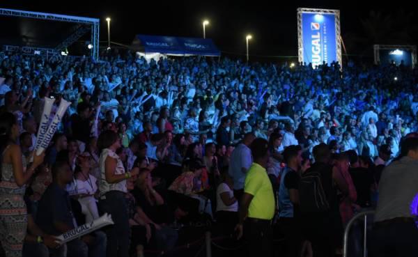 Juanes se presentó a casa llena en Puerto Plata
