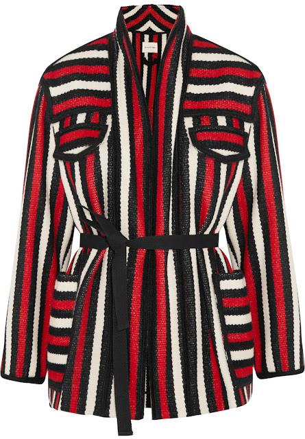 Etoile Isabel Marant Breeda Striped Jacket