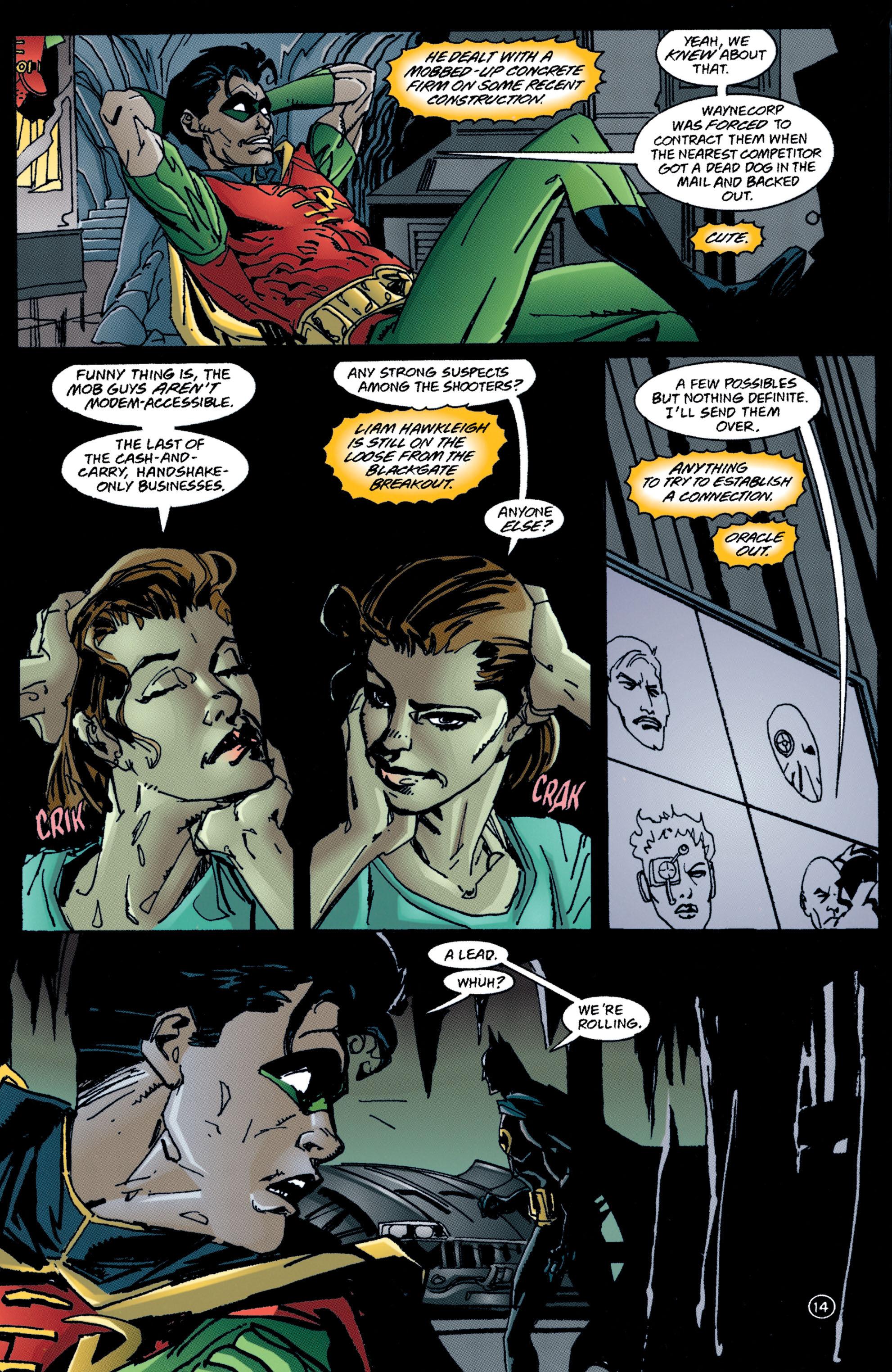 Detective Comics (1937) 709 Page 13