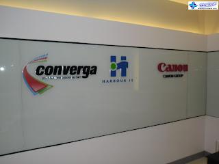 Built-Up Acrylic Logo Signs - Converga