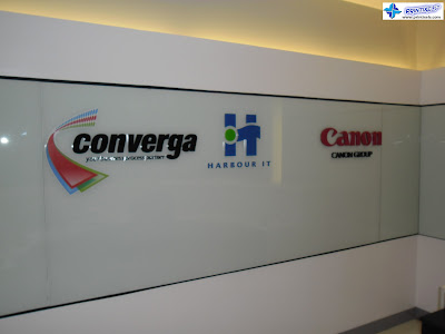 Built-Up Acrylic Logo Signs - Converga