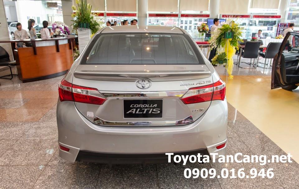 corolla altis 20 v toyota tan cang 13 - Đánh giá Toyota Corolla Altis 2.0V CVT 2015 - Giá trị đến từng chi tiết - Muaxegiatot.vn