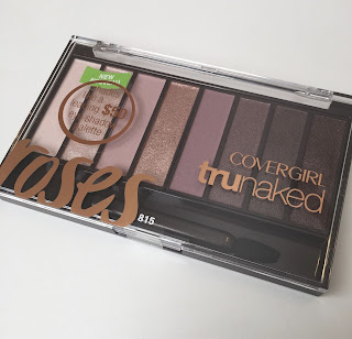 Covergirl Trunaked Roses Palette Swatched