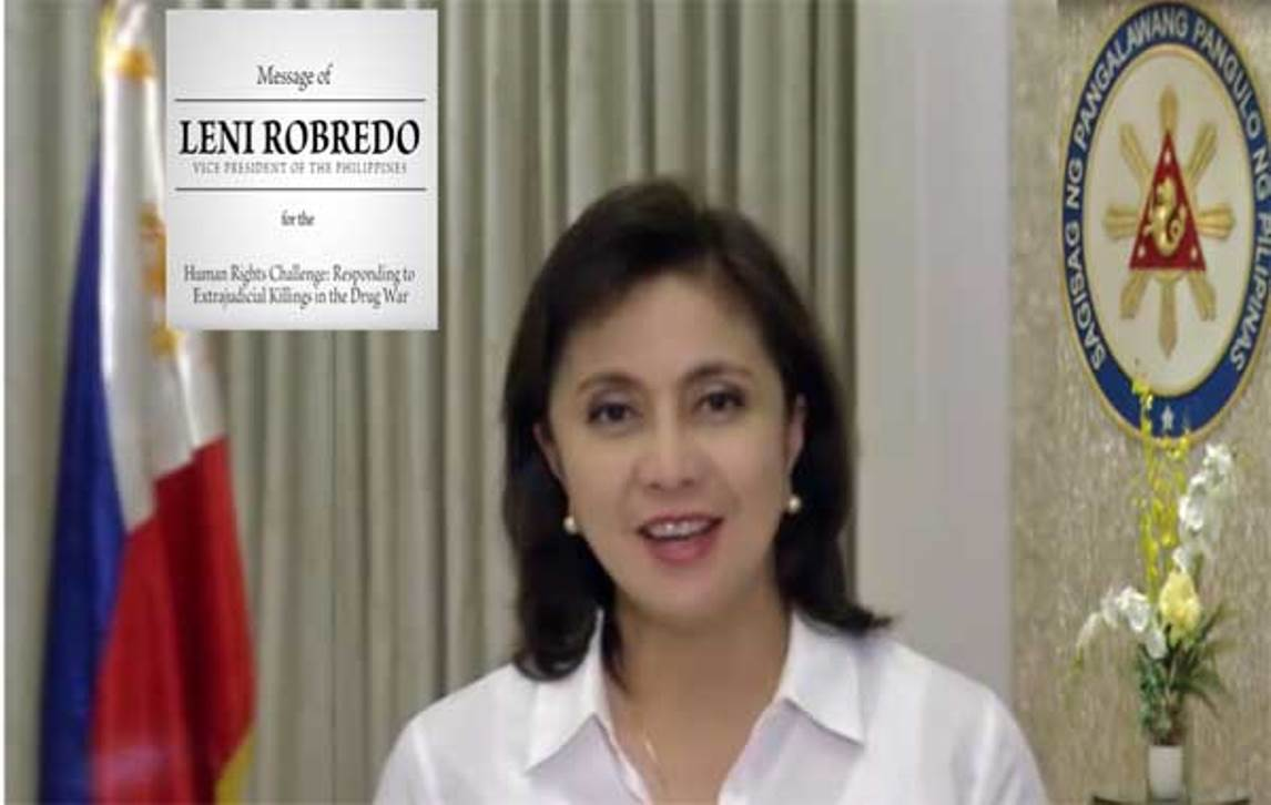 "U.N. General Assembly Hits Leni Robredo ""IMPEACHABLE ACT"""