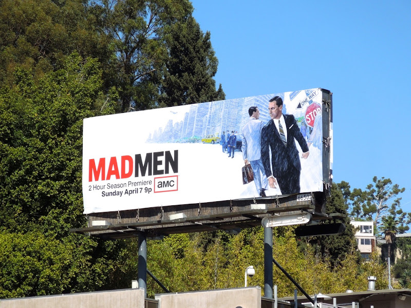 Mad Men season 6 billboard