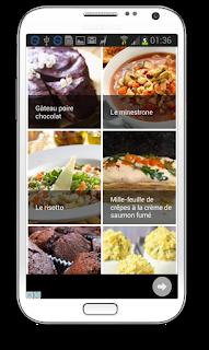 recettes de cuisine application