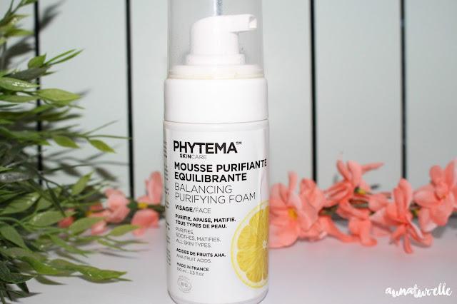 mousse purifiante équilibrante, phytema