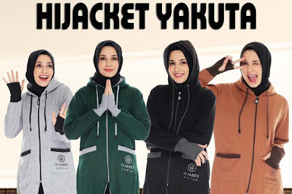 HIJACKET YUKATA COLLECTION GREEN BROWN BLACK GREY ORIGINAL PREMIUM HIJABER HIJACKET