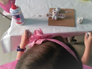 cumpleaños con taller de arte