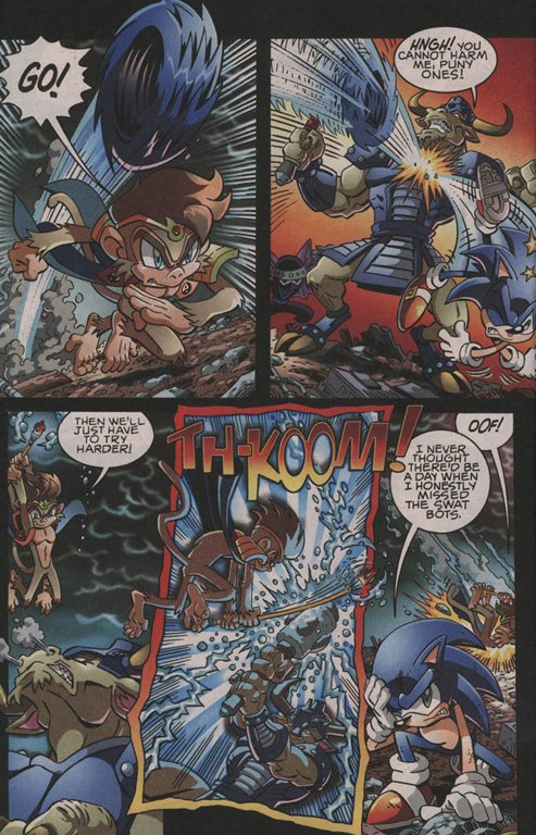 Read online Sonic The Hedgehog comic -  Issue #202 - 9