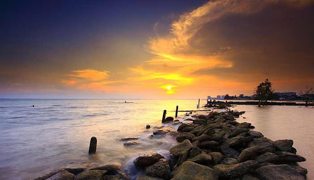 Pantai Lamaru di Balikpapan