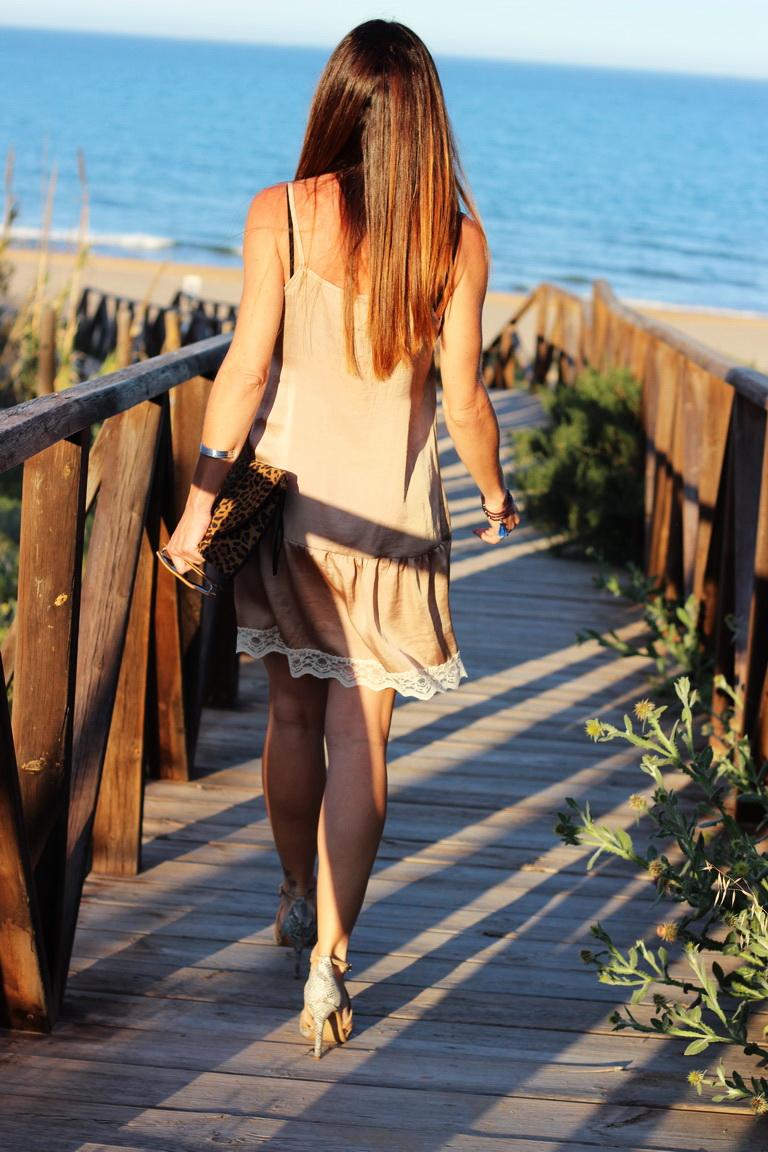 Vestido Lencero, tendencias 2016, Bbeautifulbymaria, calzados Sandra, Playa de Guardamar, Guardamar del Segura