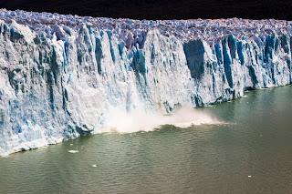 Derrumbe Glaciar Perito Moreno Calafate Parque Nacional de los Glaciares