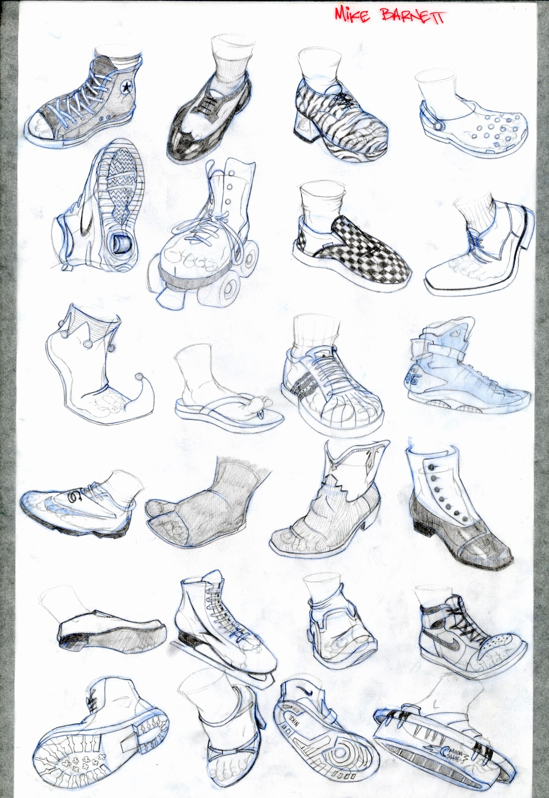 How To Draw Shoes On A Person : shoes, person, Shoes, Facing, Forward, Learn