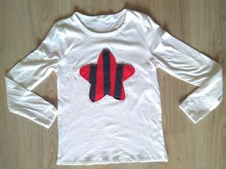 camiseta estrella barça handmade