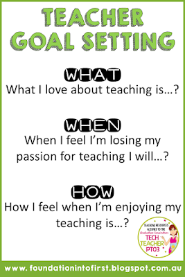 How to get your teacher mojo back again. Goal setting simple steps you can take to make sure you don't lose sight of what makes you a great teacher. Get your passion for teaching back again with these three simple steps.