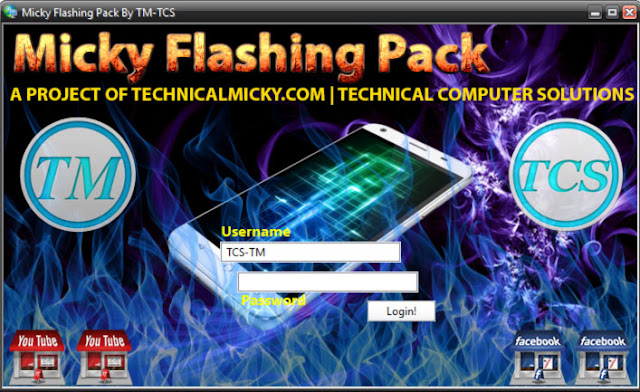 Micky Flashing Tool Pack All in One