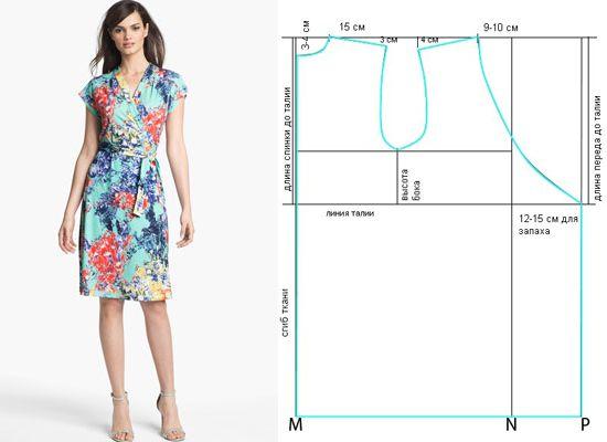Легкие выкройки для летних платьев