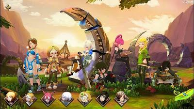 Wajib Dicoba! Daftar 12 Game MMORPG Android Terbaik 2018 - Dragon Nest M