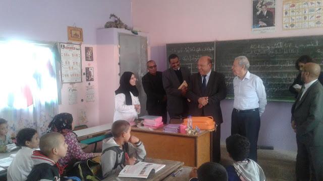 تقرير زيارة السيد وزير التربية الوطنية والتكوين المهني للمديرية الإقليمية لشيشاوة