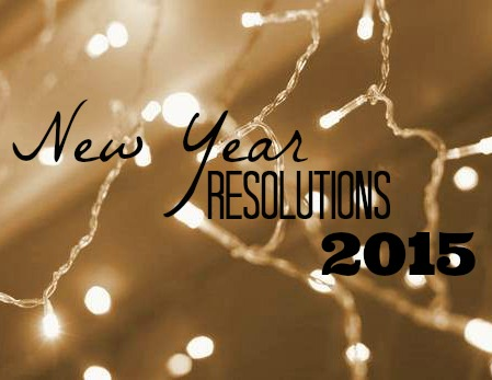New Year's Resolutions for 2015